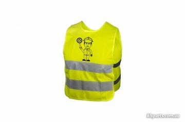Світловідбиваючий жилет KLS Starlight дитячий police - L