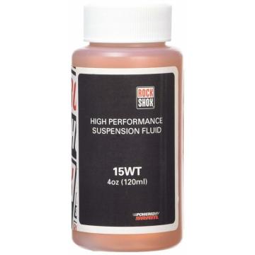 Мастило RockShox Suspension Oil, 15wt, 120ml - (Штани вилки)