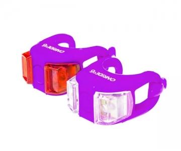 Мигалка ONRIDE силиконовая Dual фиолетовая
