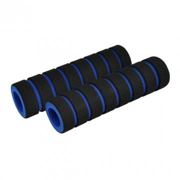 Ручки руля FOUMY пеновые черно-синие