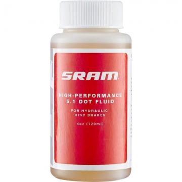 Тормозная жидкость DOT 5.1 FLUID 4OZ(120ML) SRAM