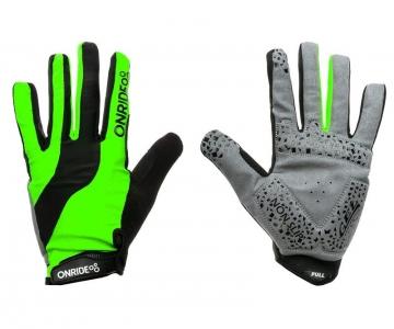 Рукавички ONRIDE Long колір Зелений/Чорний розмір S