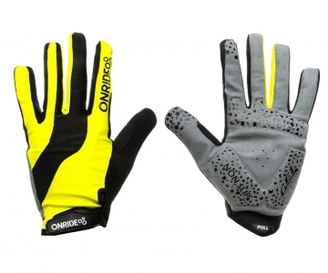 Рукавички ONRIDE Long колір Жовтий/Чорний розмір XS