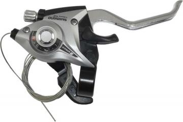 Тормозная ручка/шифтер Shimano Tourney ST-EF51-A правый, 8-звзд + тросик