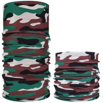 Бесшовный шарф многофункциональный