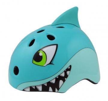 Детский шлем SHARKY, синий разм:50-54cm