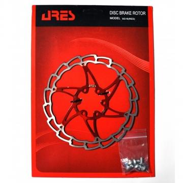Ротор disk Ares 160мм червоний