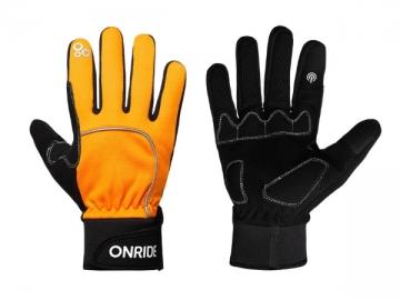 Рукавички ONRIDE Icy 10 колір помаранчевий розмір M