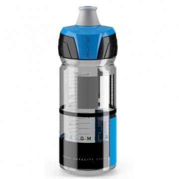 Фляга CRYSTAL OMBRA 550ml синее лого