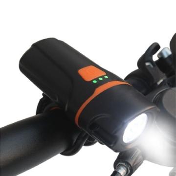 Ліхтар велосипедний, вбуд. акумулятор, microUSB