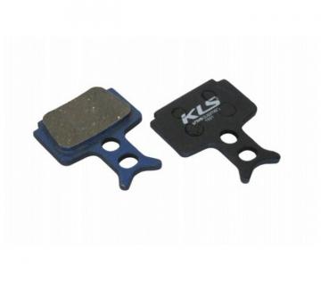 Колодки тормозные KLS D-10 для Formula Mega органика