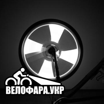 Белая велоподсветка