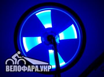 Неоновая подсветка велосипеда