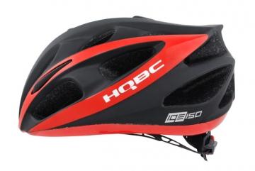 Шлем IQE размер M. 54-58cм, черный/красный матовый