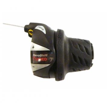 Манетка Shimano Tourney SL-RS36 Revoshift права 7 швидкості (SIS) чорний