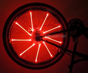Освещение велосипедных колес